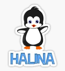 Halina Penguin Sticker Sticker