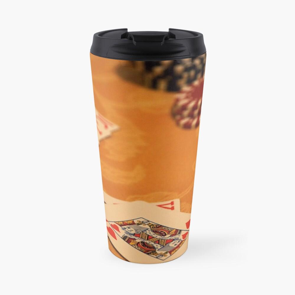 Cards and Chips Travel Mug