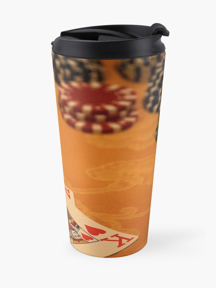 Alternate view of Cards and Chips Travel Mug