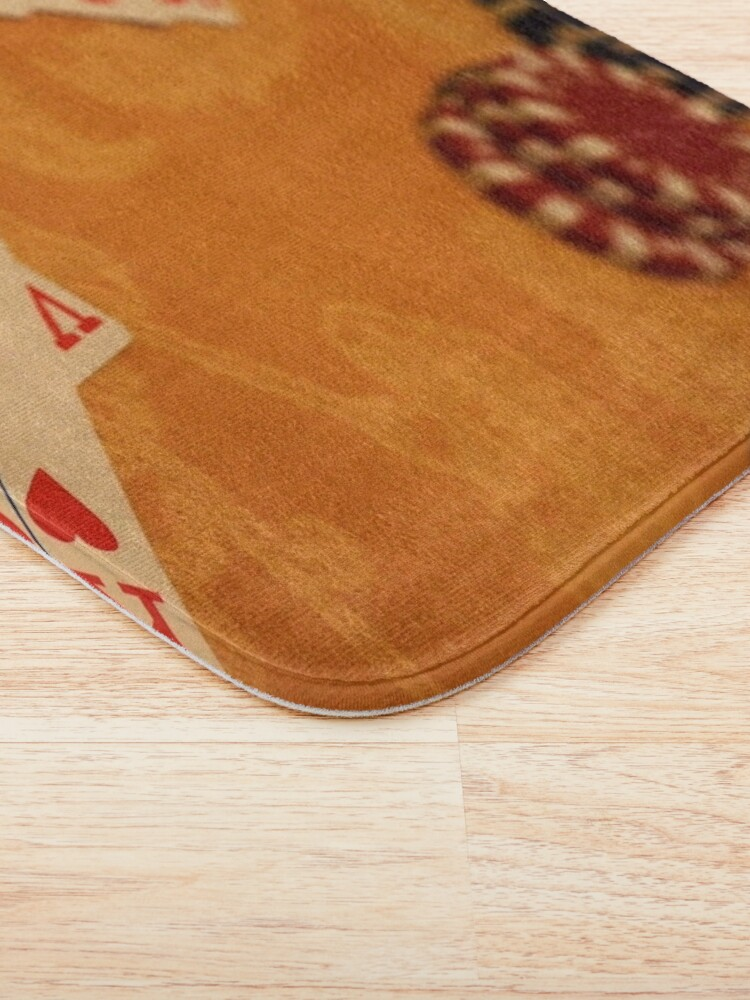 Alternate view of Cards and Chips Bath Mat