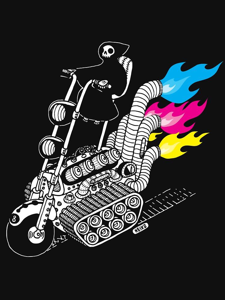 Grim Hellraiser Rides Again | Unisex T-Shirt