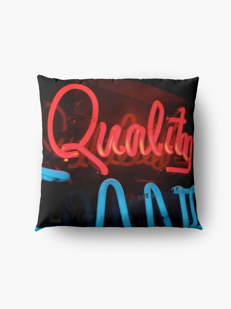 Alternate view of Quality in Neon Floor Pillow