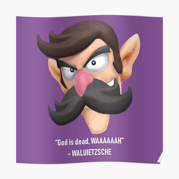Nietzsche Moustache Posters | Redbubble