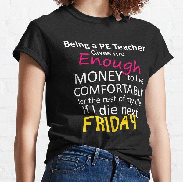 Sweatshirts Peace Love PE Teacher T Shirt Tee Shirt