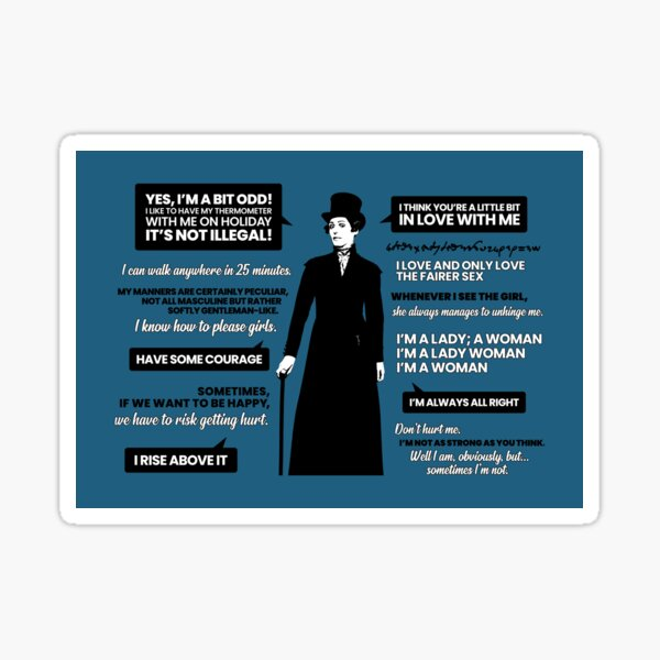 Anne Lister Quotes  Sticker