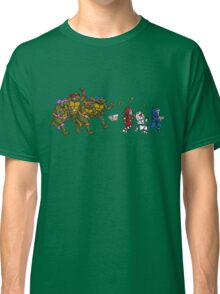 Turtles VS Cats Classic T-Shirt