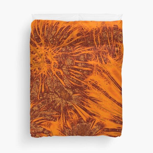 Orange Glo Duvet Cover