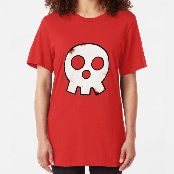 Fire Force Anime - En'en no Shōbōtai - Skull Logo Slim Fit T-Shirt