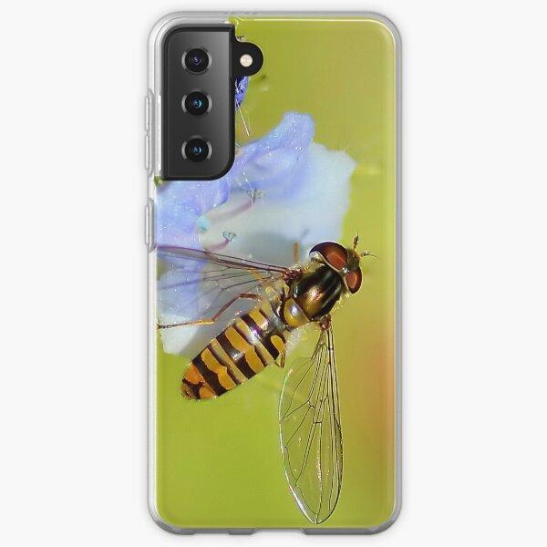 Hoverfly  / Episyrphus balteatus Samsung Galaxy Soft Case