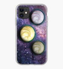 Cappuccino Planets iPhone Case