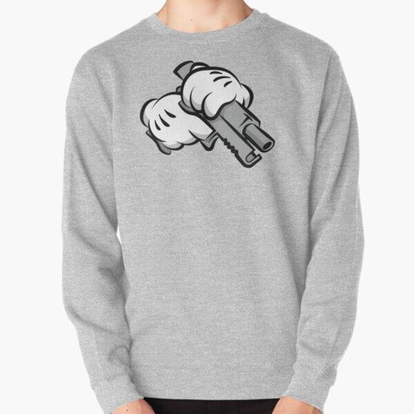 Gun Hands Pullover Sweatshirt