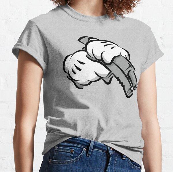 Gun Hands T-shirt classique