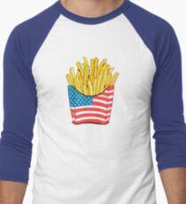3c14bb238 Freedom Fries Baseball ¾ Sleeve T-Shirt