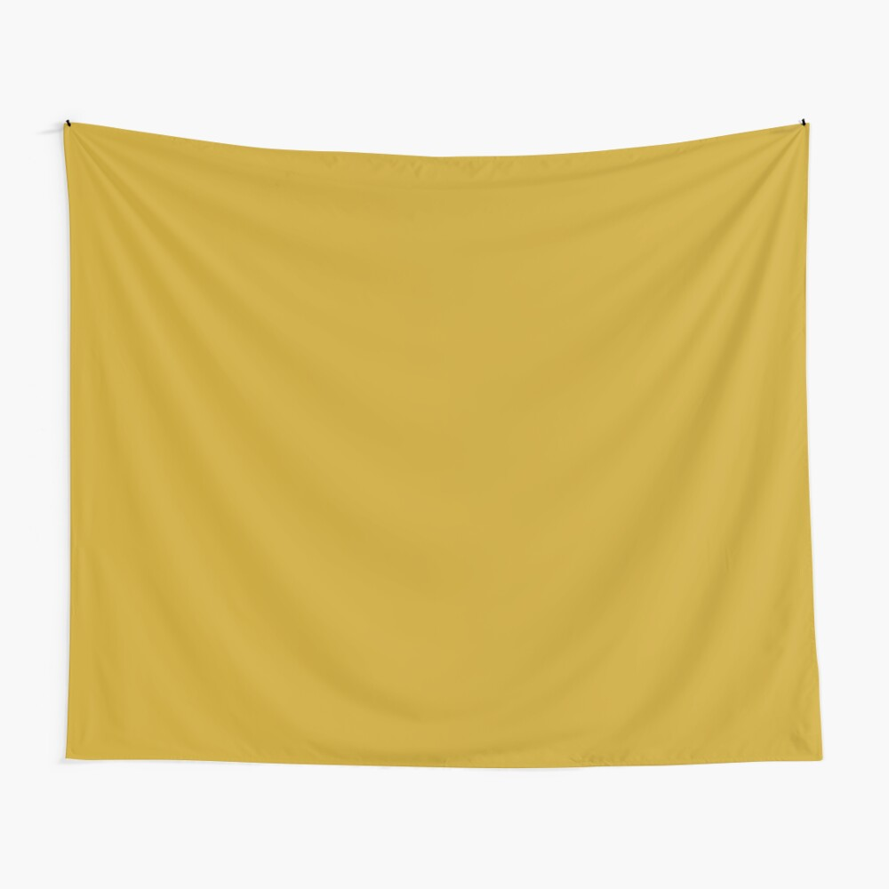 Lemon Curry 15-0751 TCX | Pantone | Color Trends | London | Fall Winter 2017 | Solid Color | Fashion Colors | Wall Tapestry