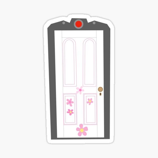 La puerta de boo Pegatina