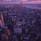 twin towers by mikepaulhamus