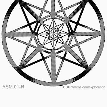 Lucas Darklord - Asmoir Probe Logo - Grey by CryptDesigners