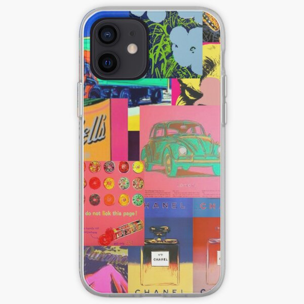 Andy Warhol collage iPhone Soft Case