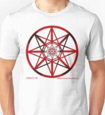 Lucas Darklord - Asmoir Probe Logo - Red T-Shirt