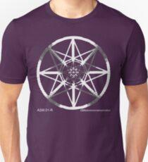 Lucas Darklord - Asmoir Probe Logo - White T-Shirt