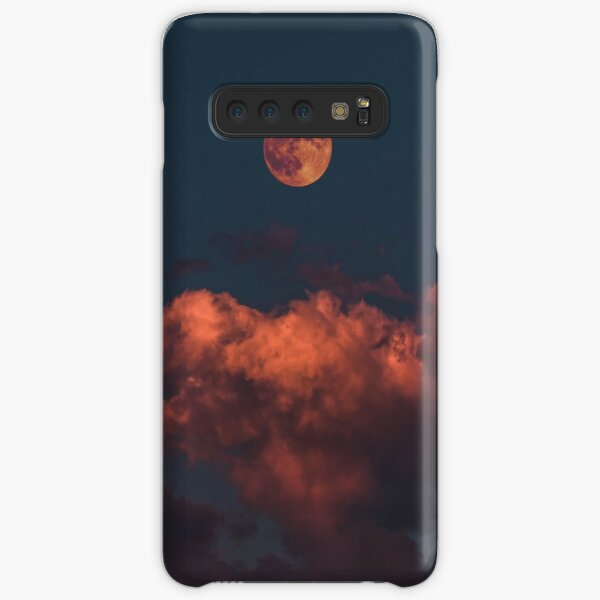 Red Moon Cover Samsung Galaxy Snap Case