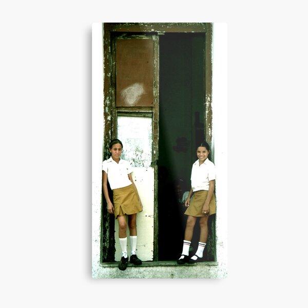The Classroom Door Metal Print