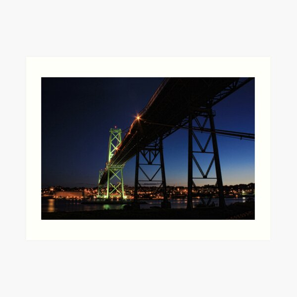 Angus L. Macdonald Bridge Art Print