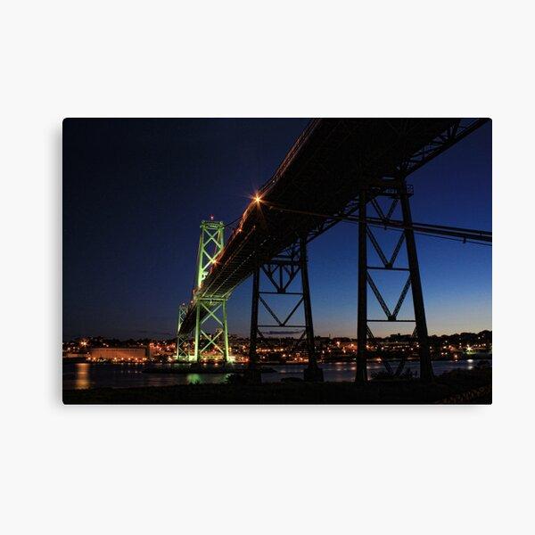 Angus L. Macdonald Bridge Canvas Print