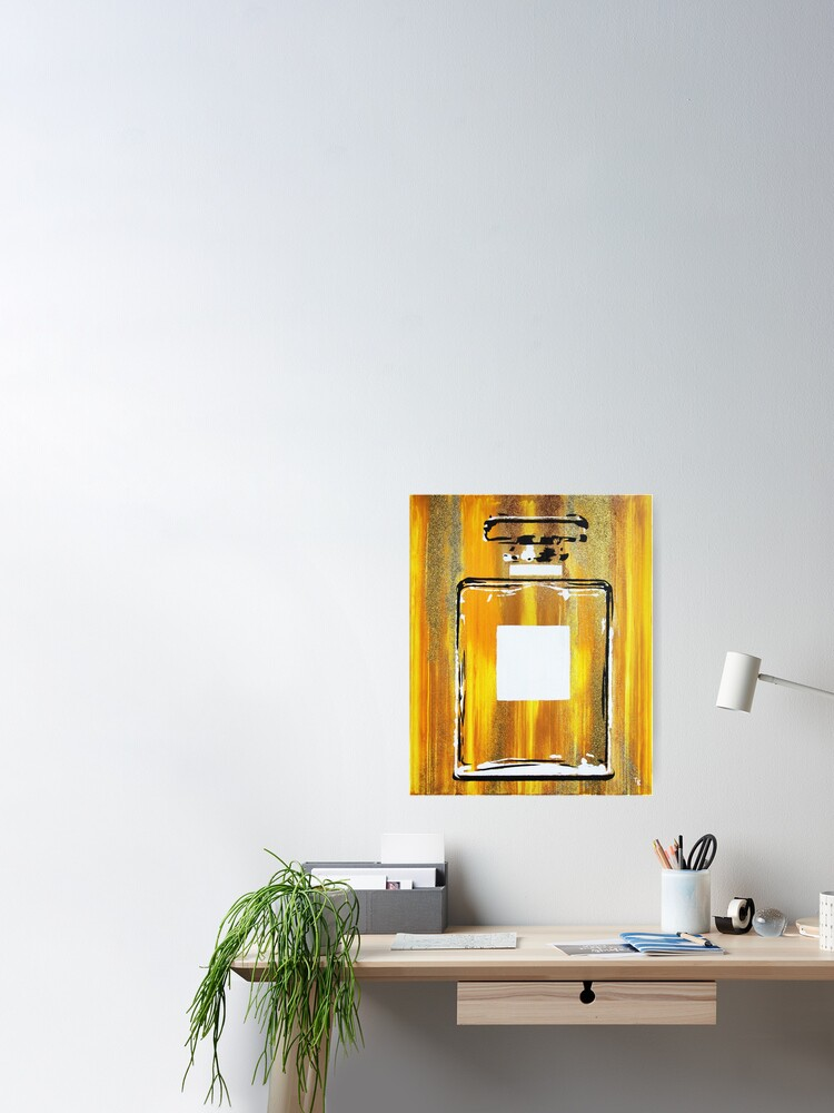 Alternate view of Yellow 5 Perfume Bottle Poster