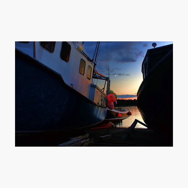 Evening at Fisherman's Cove Photographic Print