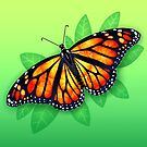 Monarch Butterfly by Tami Wicinas