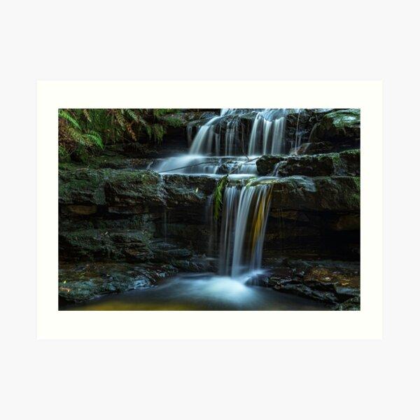 Leura Cascades _ Blue Mountains NSW Art Print