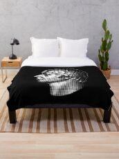 Admiral Nelson, portrait  Throw Blanket