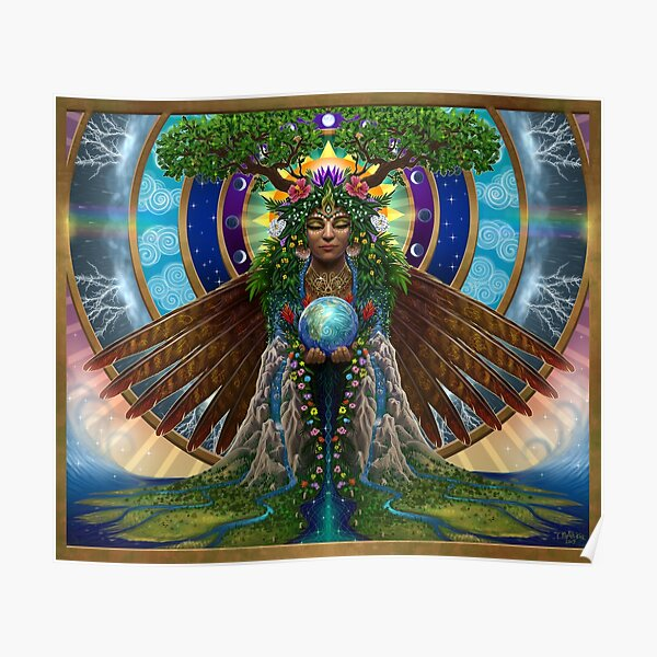 Gaia: Sacred System Poster