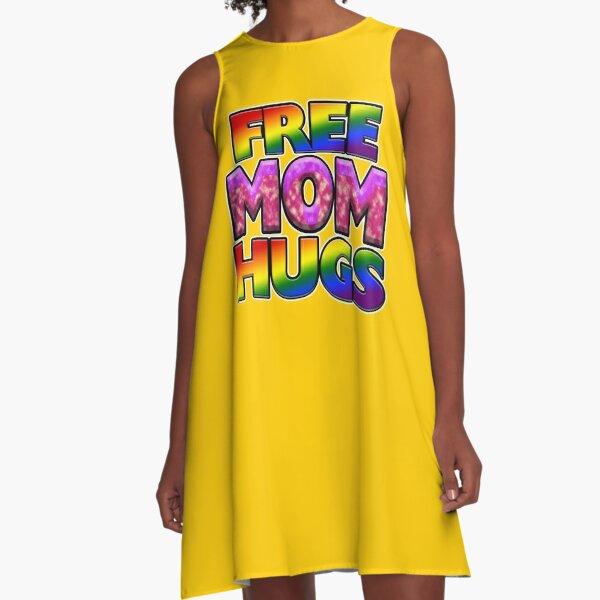 Free Mom Hugs A-Line Dress