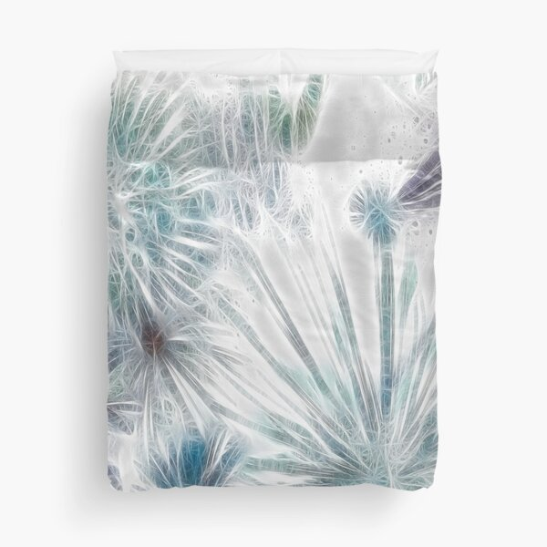 Frosted Abstract Duvet Cover