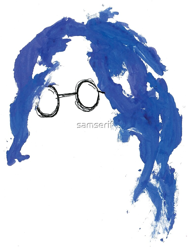 Instant Karma in Blue by samserif