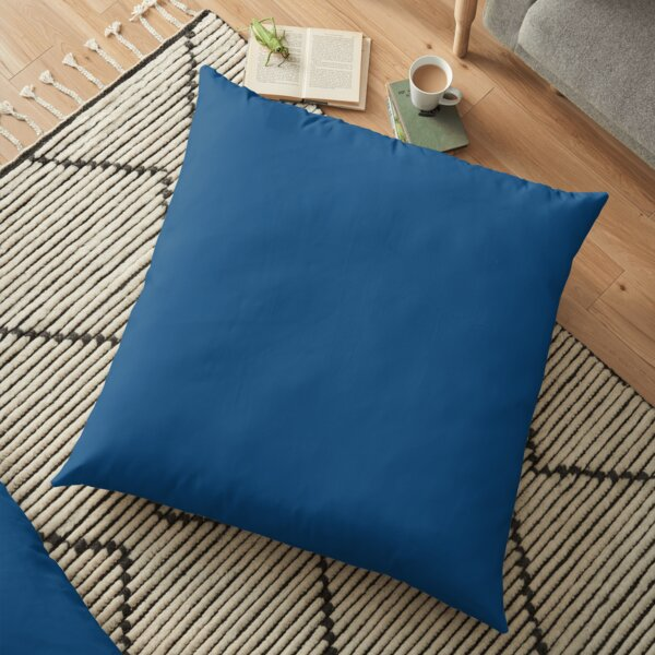 Classic Blue 19-4052 TCX | Pantone | Color Trends | Spring Summer 2015 | Solid Colors | Fashion Colors |   Floor Pillow