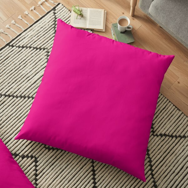 Hot Pink | Solid Color |  Floor Pillow
