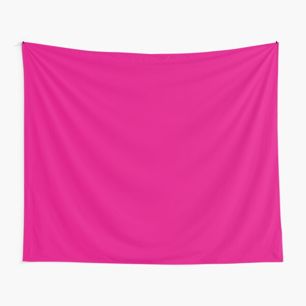 Hot Pink | Solid Color |  Tapestry