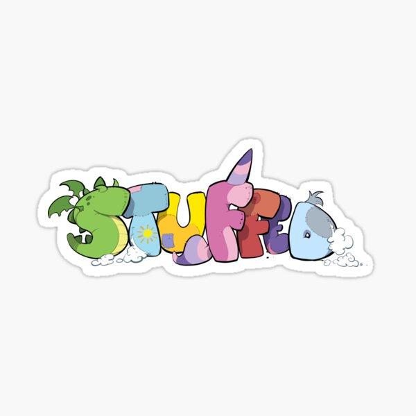 Stuffed Logo Sticker