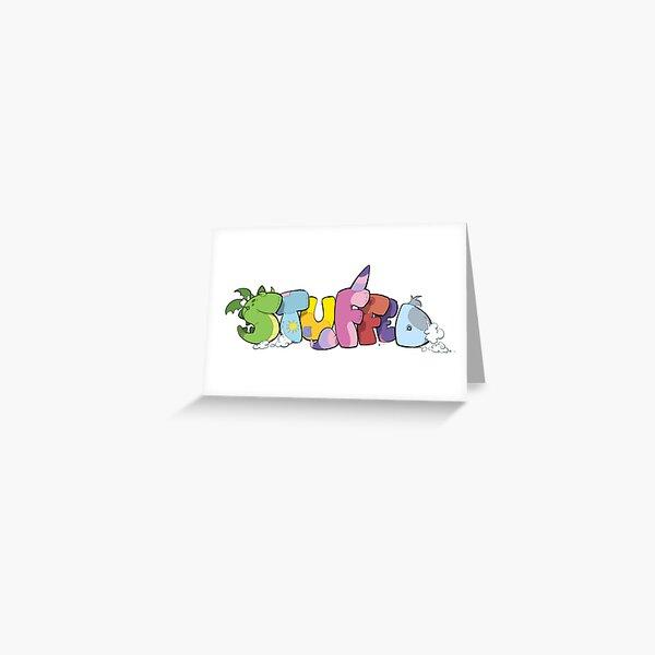 Stuffed Logo Greeting Card