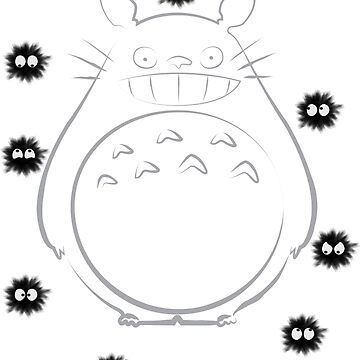 Totoro  by scanwood