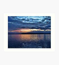 Puget Sound Sunset Art Print