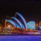 Vivid Opera House, Sydney, Australia by Erik Schlogl