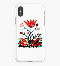 Forest Fire Flower iPhone Case