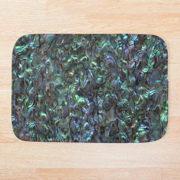 Abalone Shell | Paua Shell | Seashell Patterns | Sea Shells | Natural |  Bath Mat