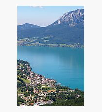 Lake Attersee Photographic Print