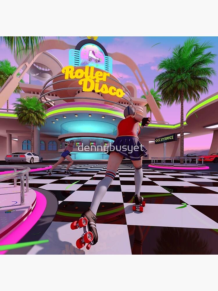 Roller Disco by dennybusyet