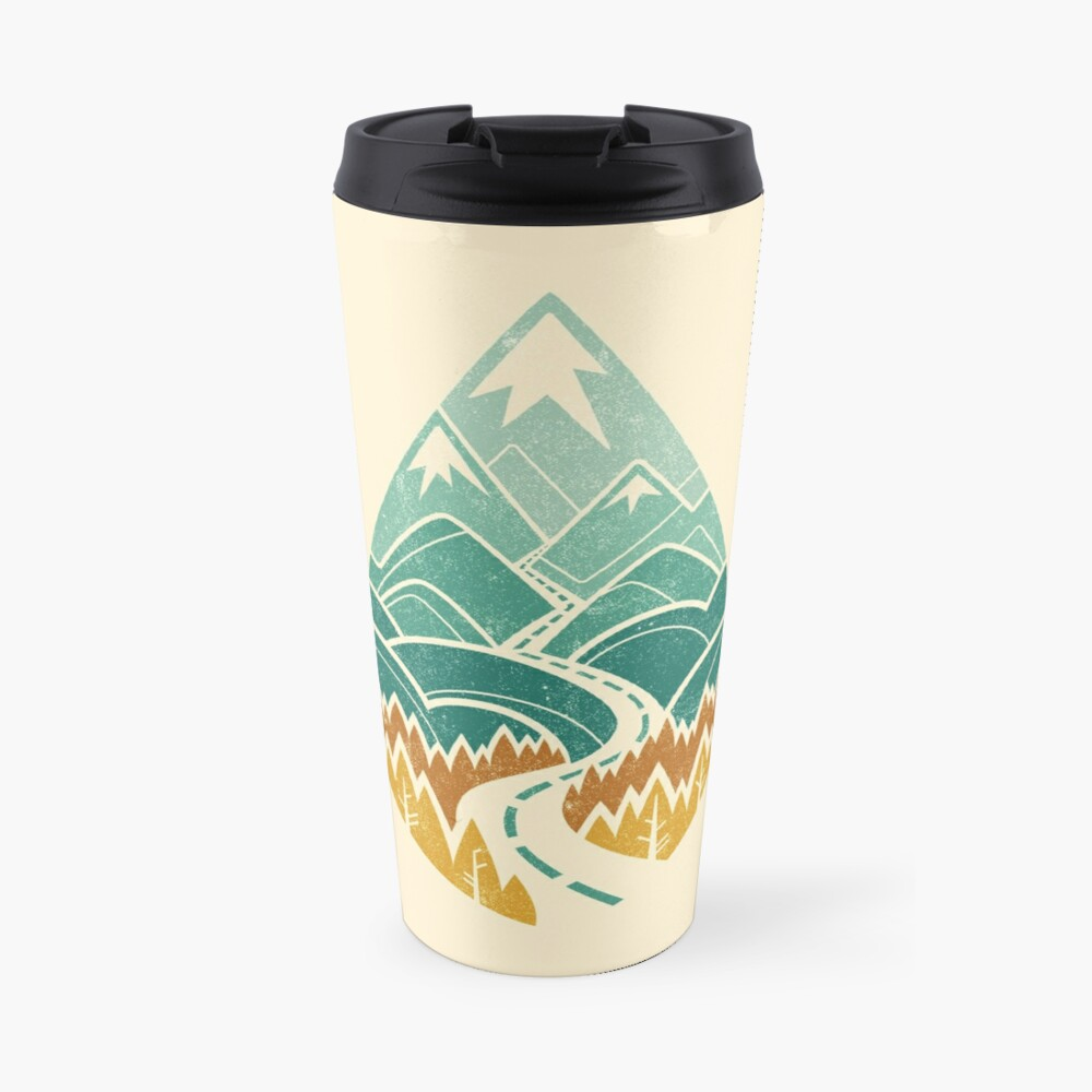 The Road Goes Ever On: Autumn Travel Mug